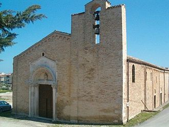 Giulianova - Santa Maria a Mare, the oldest church of the city.