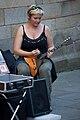 Santiago de Compostela-Músico na Rúa do Villar 2.jpg