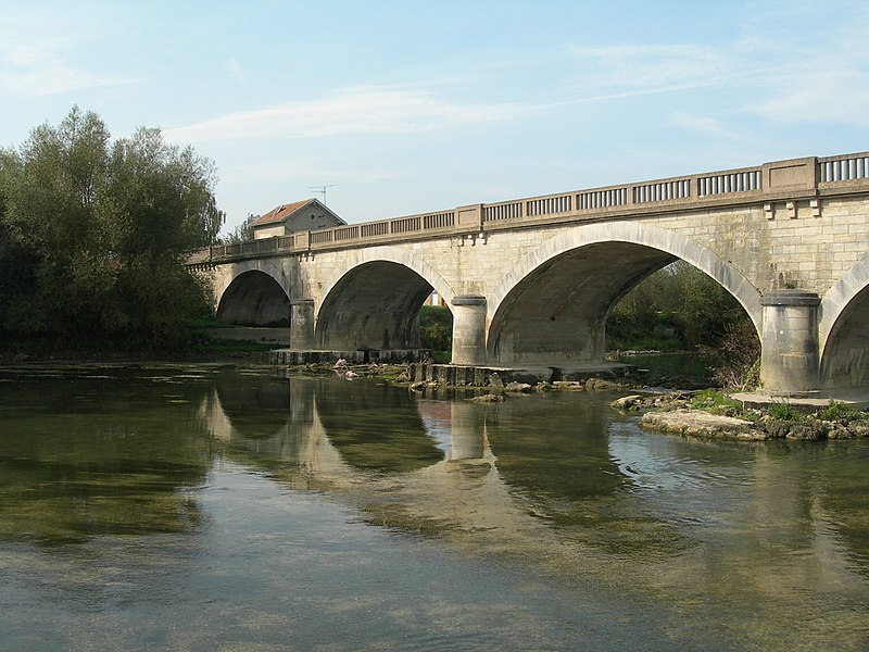 Sassey Sur Meuse - Reflections of the Bridge