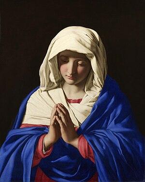 Giovanni Battista Salvi da Sassoferrato - Virgin Mary