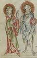 Sbs-0008 035v Christus segnet Johannes.TIF