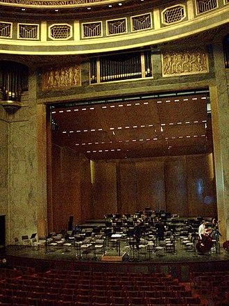 Théâtre des Champs-Élysées - Stage of the Théâtre des Champs-Élysées