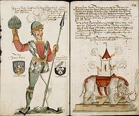 Nuremberg Shrovetide Carnival (1449-1539). Schembartsbuch