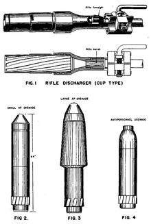 Image result for German 98K schiessbecher anti tank rifle grenade