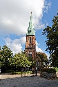 Schleswig Husumer Baum 4a Dreifaltigkeitskirche1257.jpg