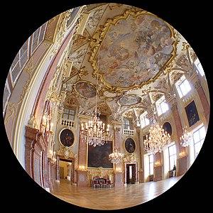 Schloss Rastatt - The Prunksaal in 2005