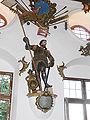Schloss Wolfegg Rittersaal Figur Georgius IV Bauernjörg.jpg