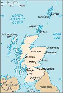 Geography Of Scotland Wikipedia