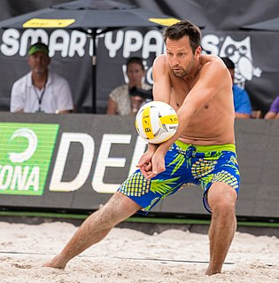 Sean Rosenthal American beach volleyball player
