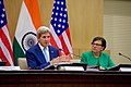 Secretary Kerry Addresses Reporters During a News Conference at the Jawarhalal Nehru Bhawan in New Delhi (29260355831).jpg