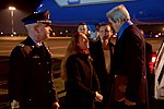 Secretary Kerry Speaks With U.S. Embassy Rome Deputy Chief of Mission Degnan Upon Arrival in Rome (31245712701).jpg