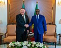 Secretary Pompeo Meets With President Macky Sall in Dakar (49554060831).jpg