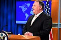 Secretary Pompeo delivers remarks to the Media (32411925237).jpg