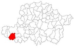 Vị trí của Secusigiu