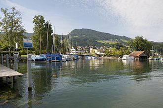 Pfäffikon, Schwyz - Pfäffikon at the Lake of Zurich