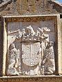 Segovia - Monasterio de Santa Cruz la Real-Universidad SEK, portada tardogótica de la Iglesia 1.jpg