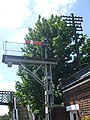 Semaphore signal at Wymondham station - geograph.org.uk - 1335757.jpg
