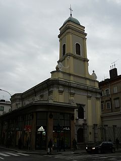 Serbian Ortodox Church of Saint Nicholas in Rijeka, Croatia.jpg