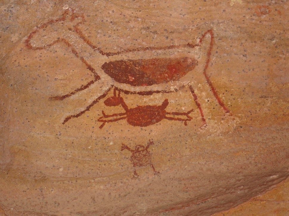 Serra da Capivara - Painting 7