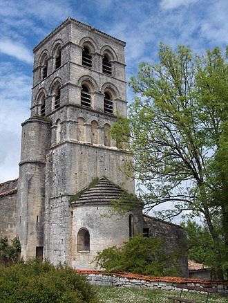 Sers, Charente - Image: Sers Eglise
