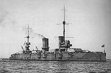 ElSebastopol, uno de los dos buques de guerra cuyas tripulaciones se unieron a la rebelión.