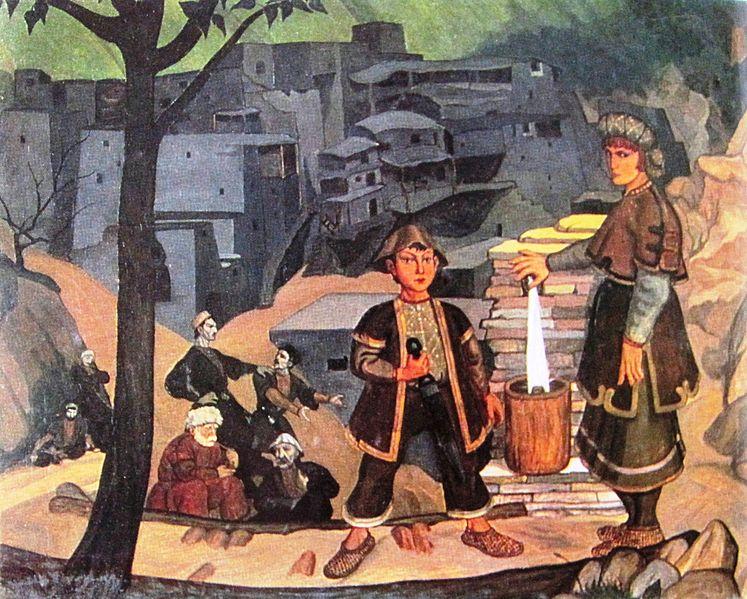File:Shalva Kikodze. Khevsureti. 1920.jpg