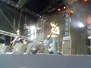 The Sheer - The Sheer performing in Zwolle (2006).