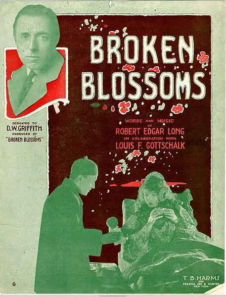 File:Sheet music cover - BROKEN BLOSSOMS (1919).jpg
