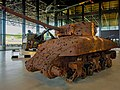 Sherman tank, type M4A1 - Schietdoel - Collection Dutch National Military Museum (NMM) - Soesterberg (18708331399).jpg
