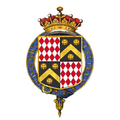 Shield of arms of Charles Wentworth-Fitzwilliam, 5th Earl Fitzwilliam, KG.png