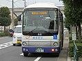 Shinnihon Sightseeing Bus Harukaze near Ogi-ohashi Station 01.jpg