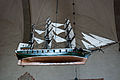 Ship model in Bunge church, 2009-08-11.jpg