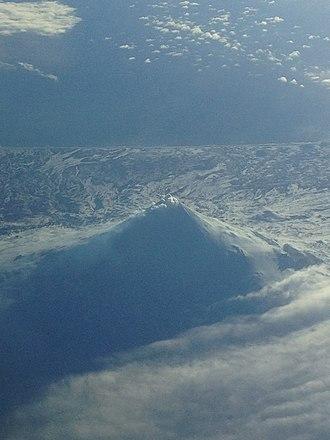 Mount Shishaldin - Image: Shishaldin Volcano, Alaska