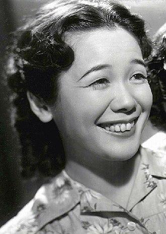 Shizuko Kasagi - Shizuko Kasagi in the film Ginza Kankan Musume