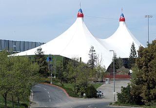 Shoreline Amphitheatre concert venue in Mountain View, California, United States of America
