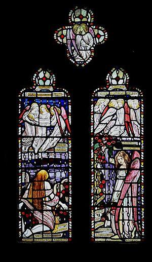 Reginald Hallward - Window in St Peter and St Paul's Church, Shorne, Kent by Hallward