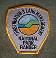 Shoulder badge CALM National Park Ranger Shirt 2005.JPG