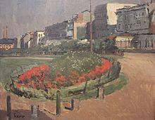 Sickert (1860-1942)-Vue de l'Hotel Royal, vers 1899.jpg