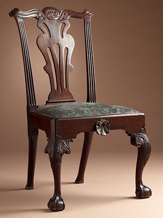 Mahogany - Mahogany chair