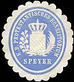 Siegelmarke Königlich Bayerische Protestantisches Konsistorium - Speyer W0225912.jpg