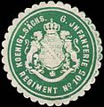 Siegelmarke K. Sächs. 6. Infanterie Regiment No. 105 W0352098.jpg