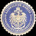 Siegelmarke Kaiserliche Marine - Kommando der I. Matrosendivision W0215988.jpg