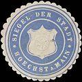 Siegelmarke Siegel der Stadt Höcht am Main W0392551.jpg