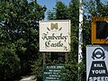 Sign for Amberley Castle - geograph.org.uk - 1335522.jpg