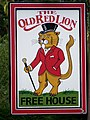 Sign for the Old Red Lion - geograph.org.uk - 1476666.jpg