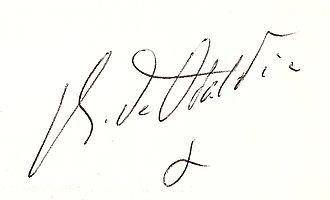 René de Obaldia - Image: Signature Réné de Obaldia