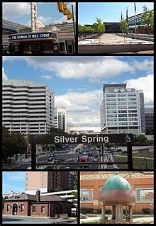 Silver Spring, Maryland Census-designated place in Maryland, United States