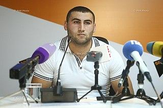 Simon Martirosyan Armenian weightlifter