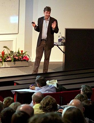 National Astronomy Meeting - Simon White addressing the 2012 National Astronomy Meeting