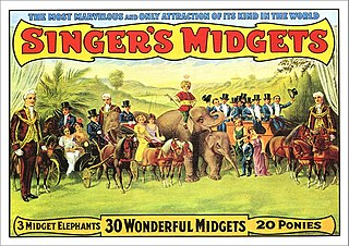 Midget Term for a person of unusually short stature